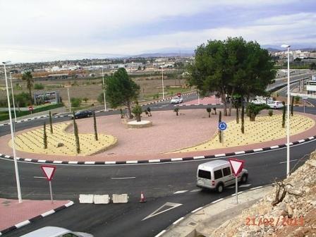 Carretera renovada de San Antonio de Benagéber y Bétera. Foto EPDA