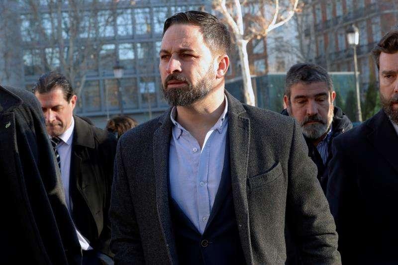 El líder de Vox, Santiago Abascal. EFE/Archivo