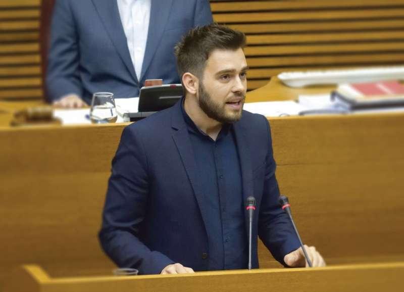 El síndic del Grup Parlamentari Compromís a les Corts, Fran Ferri