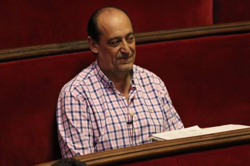 El concejal de Vox, Vicente Montañez. EPDA