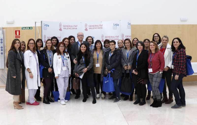 Grupo que ha participado en la tercera edición del Curso en Endoscopia respiratoria para Enfermería.- EPDA