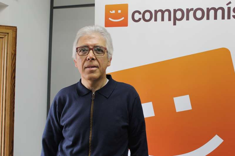 El candidat de Compromís Pep Esplà. EPDA
