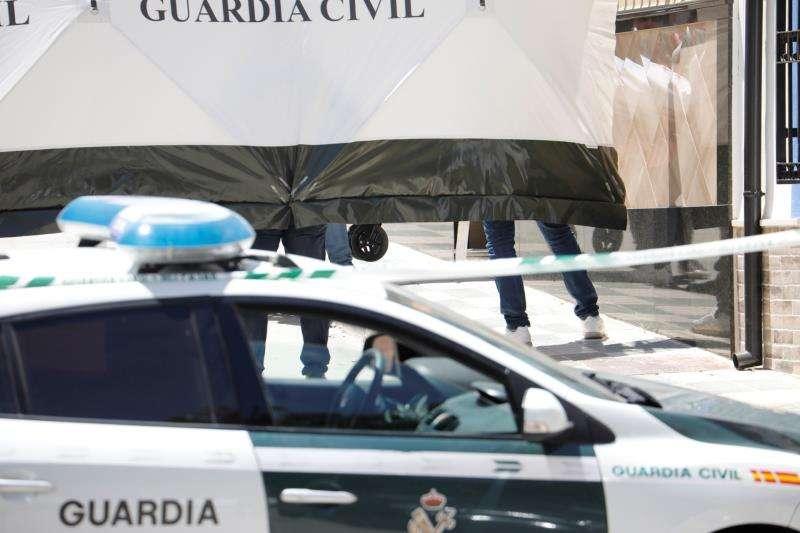 Un coche de la Guardia Civil durante una operación. EFE/Archivo
