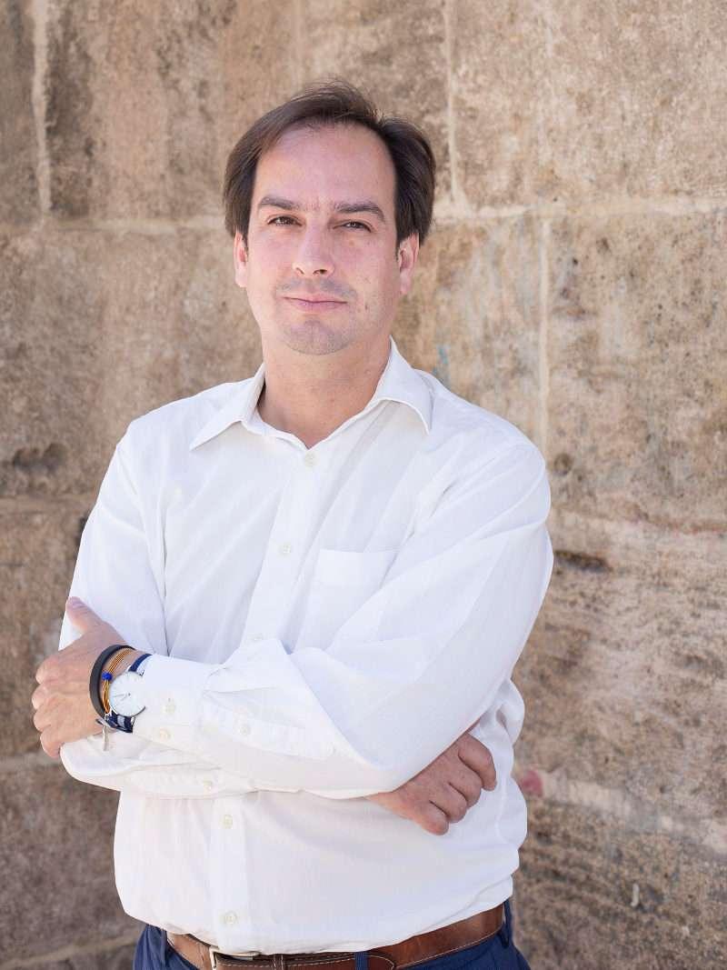 Jaume Hurtado, secretario general de Som Valencians./ V. GUTIÉRREZ/ SOM VALENCIANS