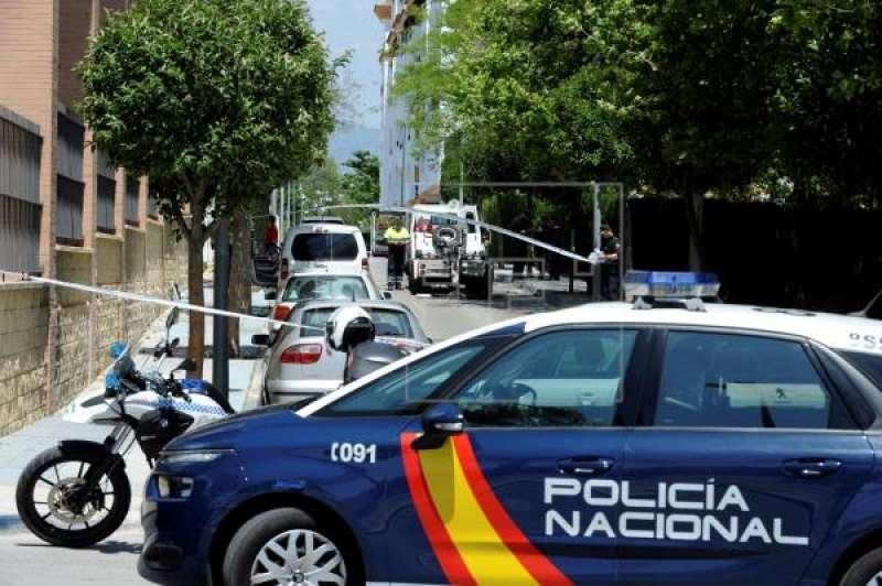 Coche de la policía nacional. EFE