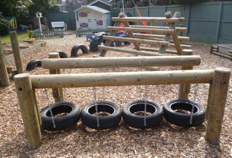 Ejemplo de zonas verdes urbanas adaptadas a niños. EPDA