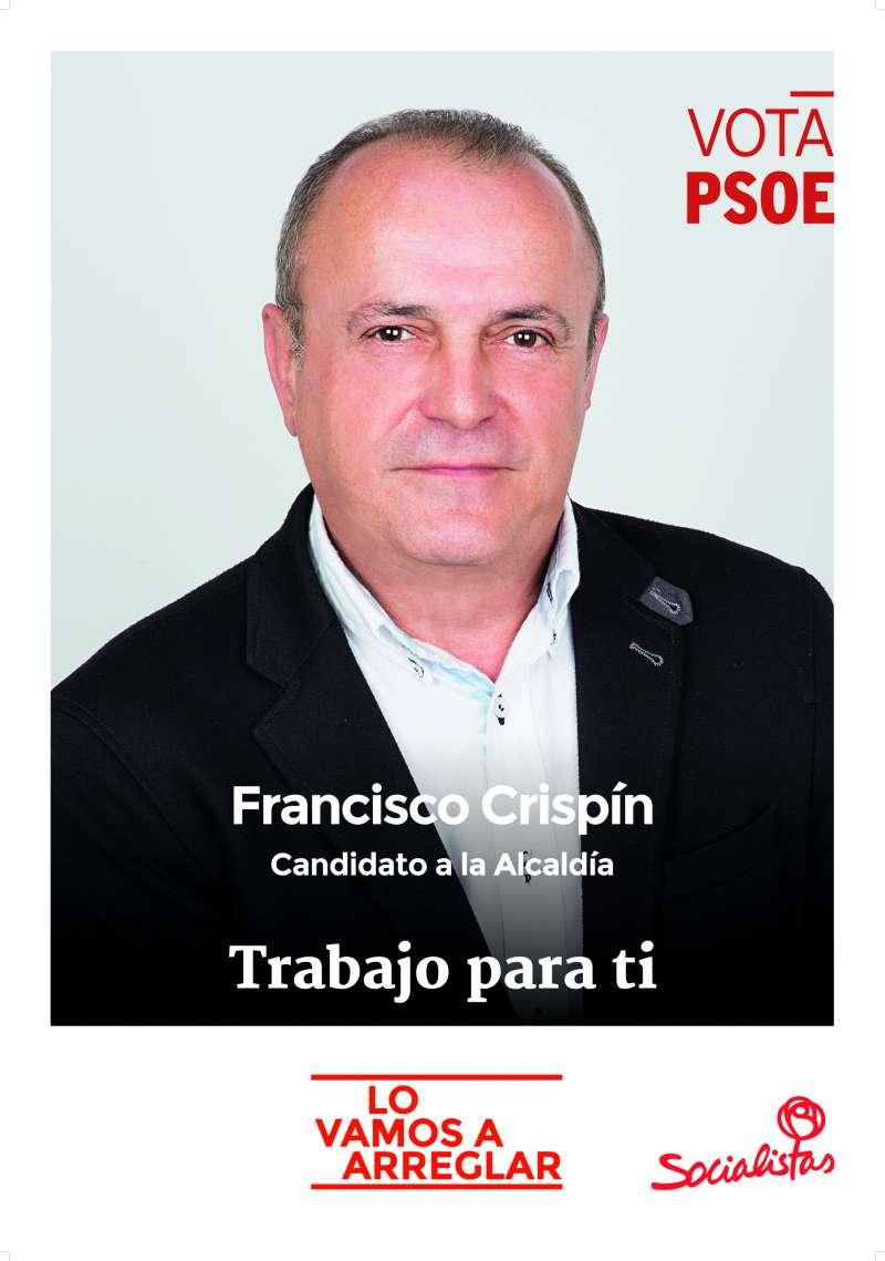 Paco Crispín, portavoz del PSPV-PSOE en Sagunto.