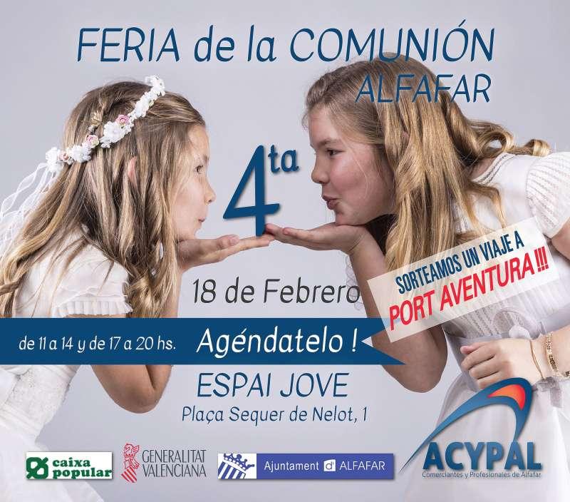 Alfafar acoge la cuarta edición de la Feria de la Comunión. EPDA