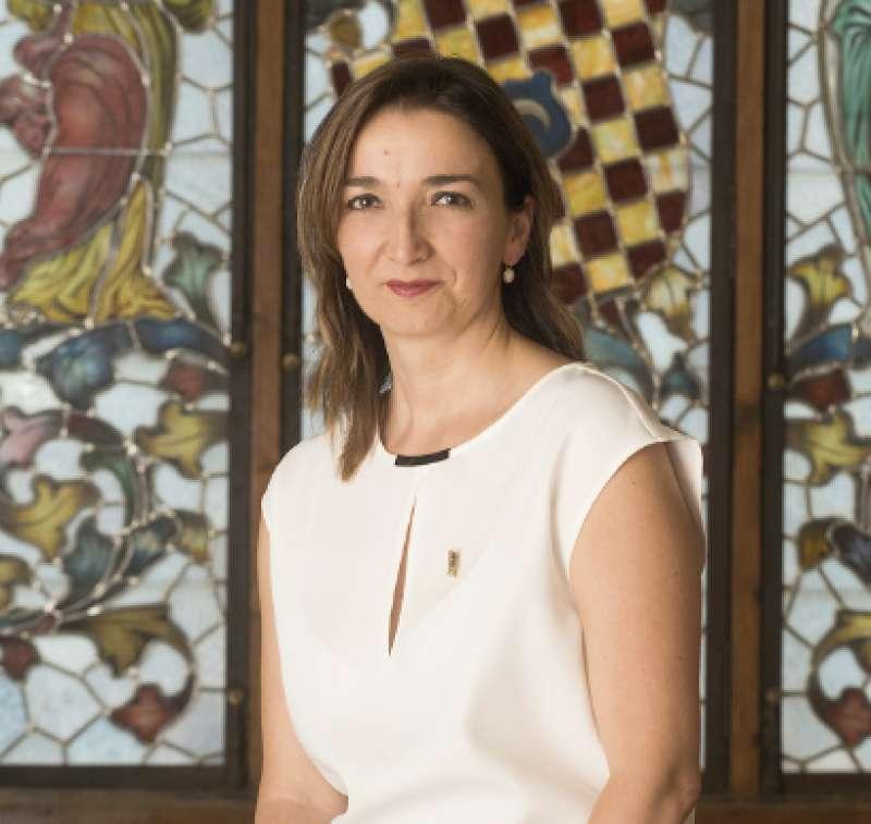 La alcaldesa de Benissanó, Amparo Navarro. //EPDA
