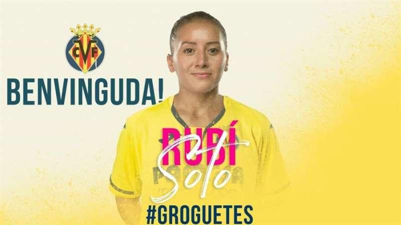 Imagen de bienvenida a Soto por parte del club.