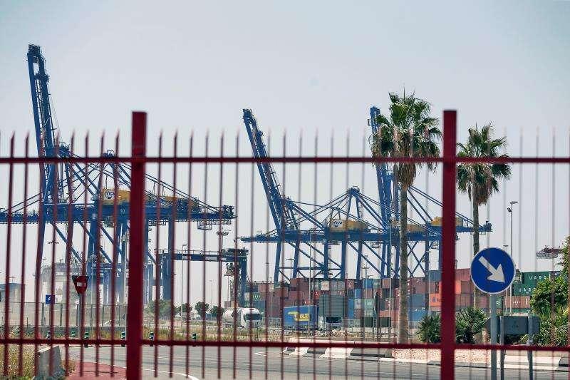 Imagen de las instalaciones del Puerto de València. EFE/Bruque/Archivo