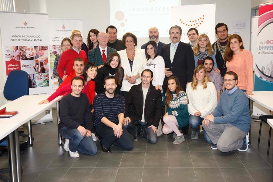 Primera Lanzadera de Empleo de Valencia. FOTO EPDA