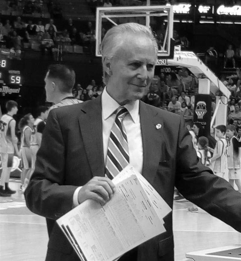 Imagen de Martín Labarta cedida por el Valencia Basket.