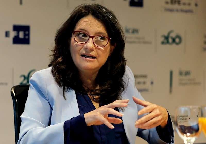 La vicepresidenta y consellera de Igualdad y Políticas Inclusivas, Mónica Oltra. / EFE