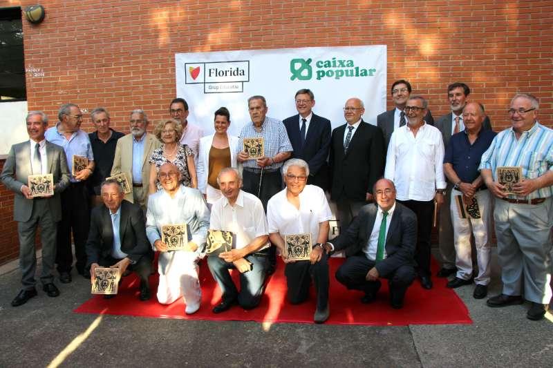 Acto del 40 aniversario de Florida Grup  Educatiu de Catarroja y Caixa Popular. EPDA