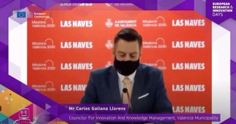 Carlos Galiana, delegado de relación con los Medios. EPDA
