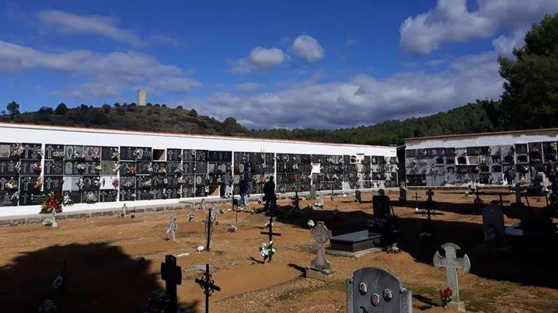 Cementerio de Gaibiel. Foto: P. Cruz