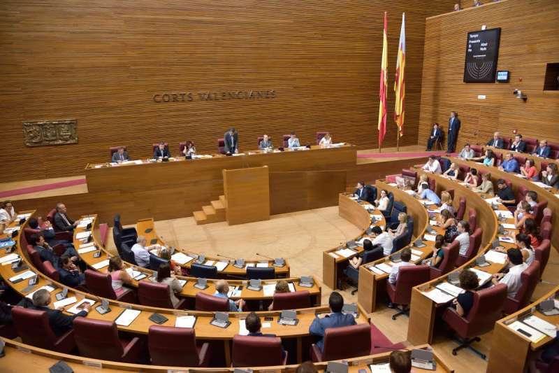 Las Cortes Valencianas. EPDA.