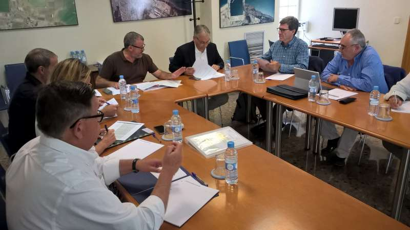 Reunión del Comité Asesor del Puerto de Sagunto. EPDA