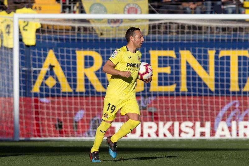 El centrocampista del Villarreal CF, Santi Cazorla, vuelve a la selección. EFE/Archivo