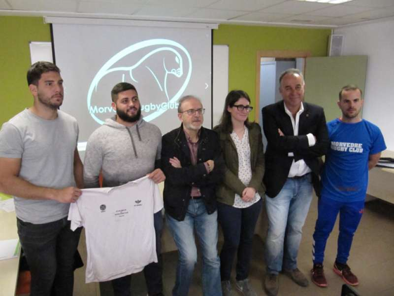 Presentación del torneo de rugby. EPDA