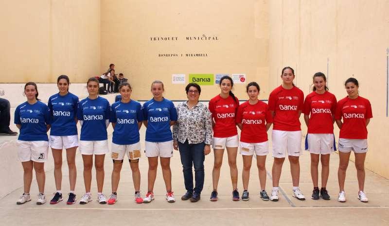 Bonrepós i Mirambell espera el millor raspall femení