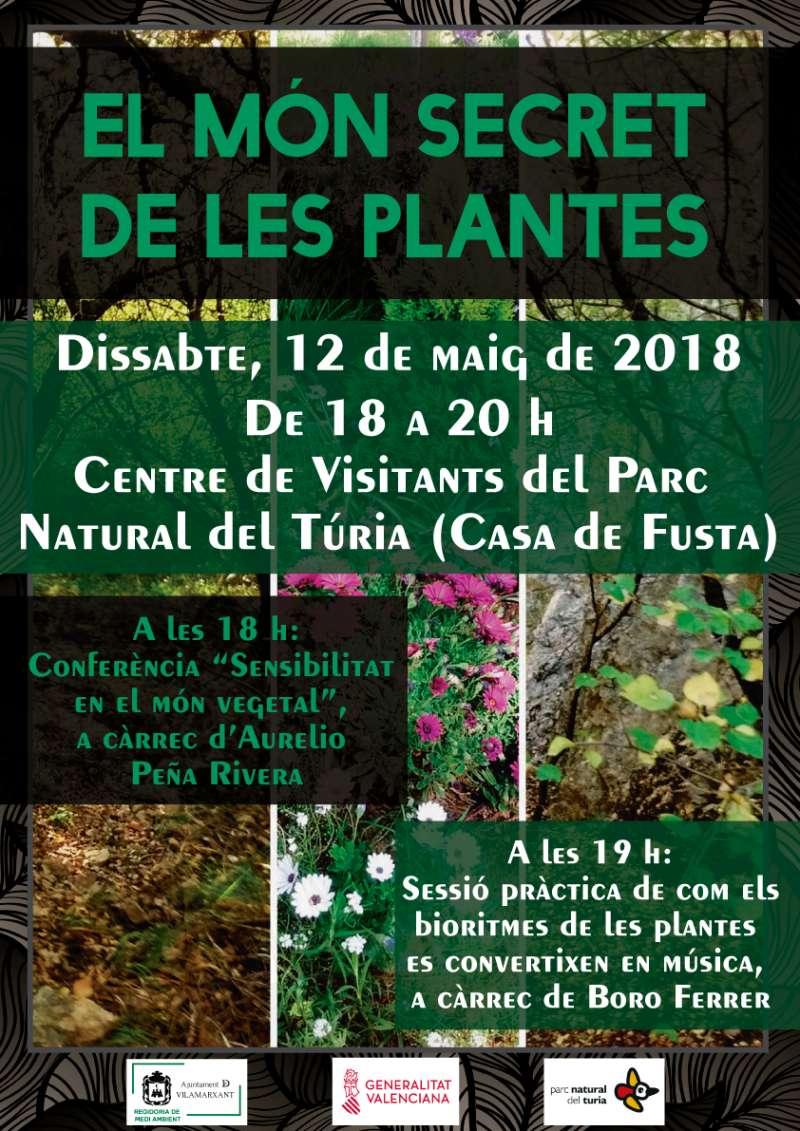 Cartell El Món Secret de les Plantes