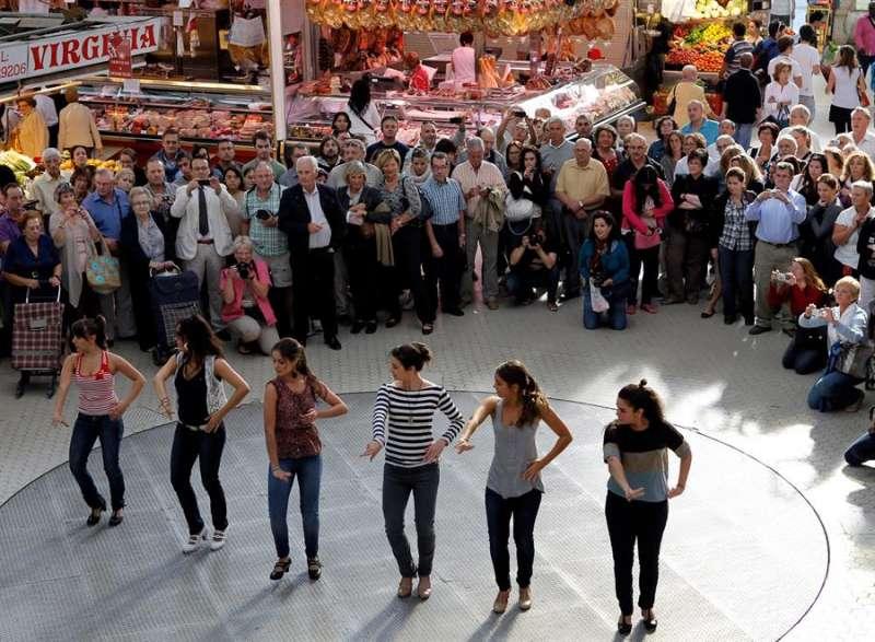 Imagen de archivo de la compañia valenciana de danza joven Mediterráneo. EPDA