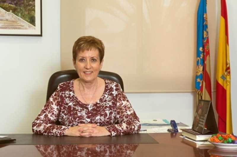 La alcaldesa de El Puig, Luisa Salvador. EPDA