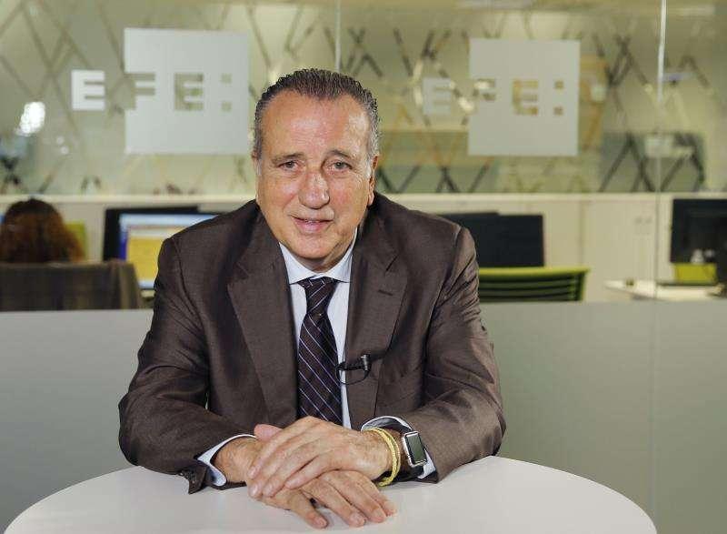 El presidente del Villarreal, Fernando Roig. EFE/Archivo