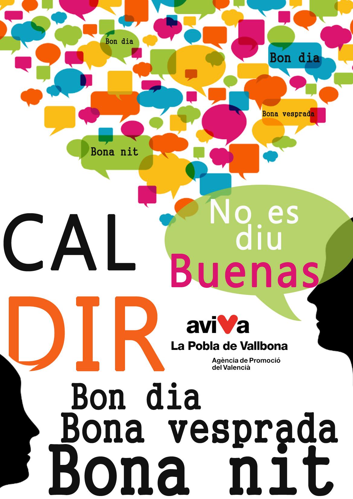 Nuevo cartel de la promoción del valenciano del Ayuntamiento de la Pobla