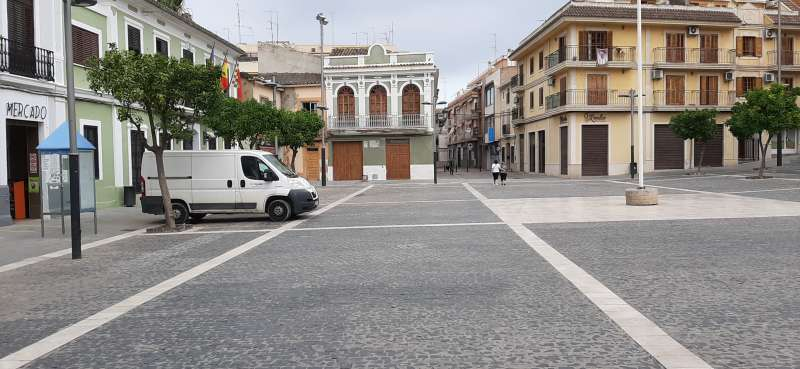 Plaza del Mercado de Paterna. EPDA