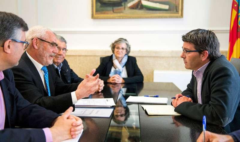 El president Jorge Rodríguez i l
