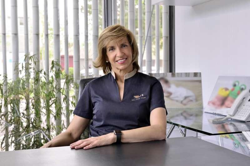 Juana Crespo, en su despacho.