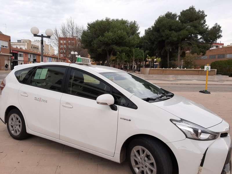 Taxi sanitari Almussafes./EPDA