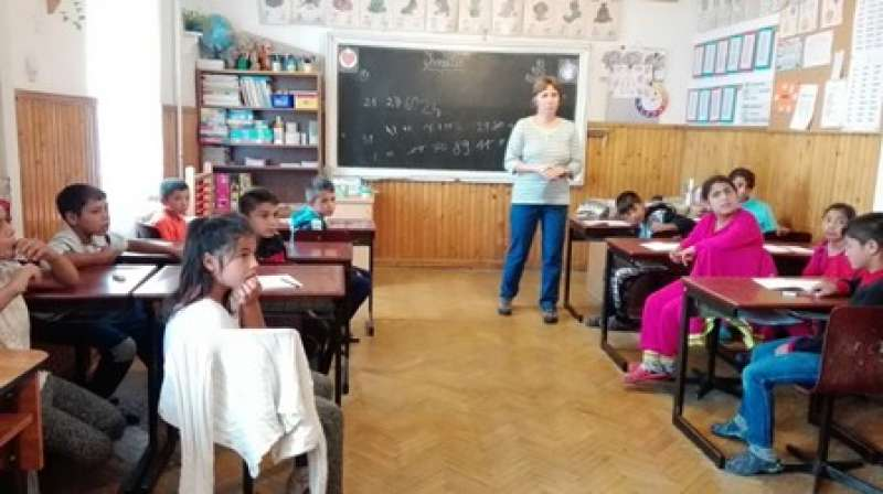 Centro escolar en Rumanía. EPDA