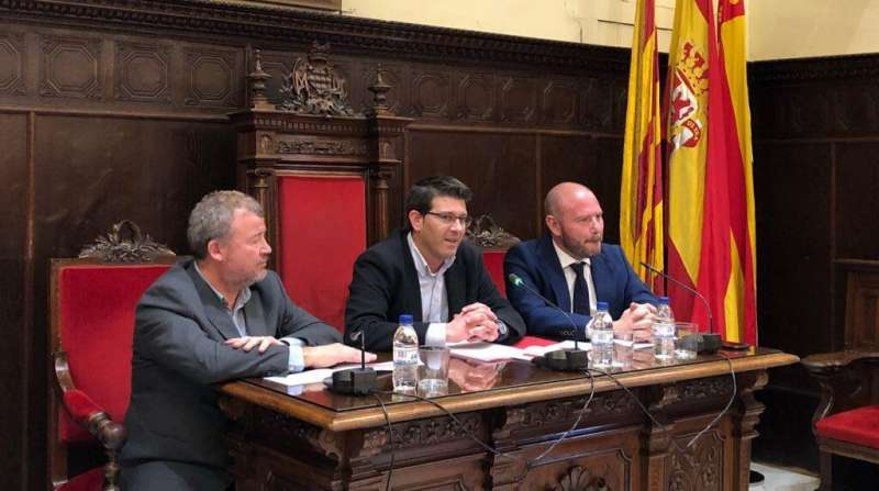 Quico Fernández, Jorge Rodríguez y Toni Gaspar.