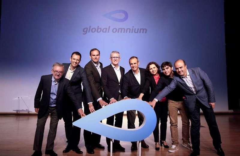 Responsables de Global Omnium, en una imagen de la compañía. EPDA