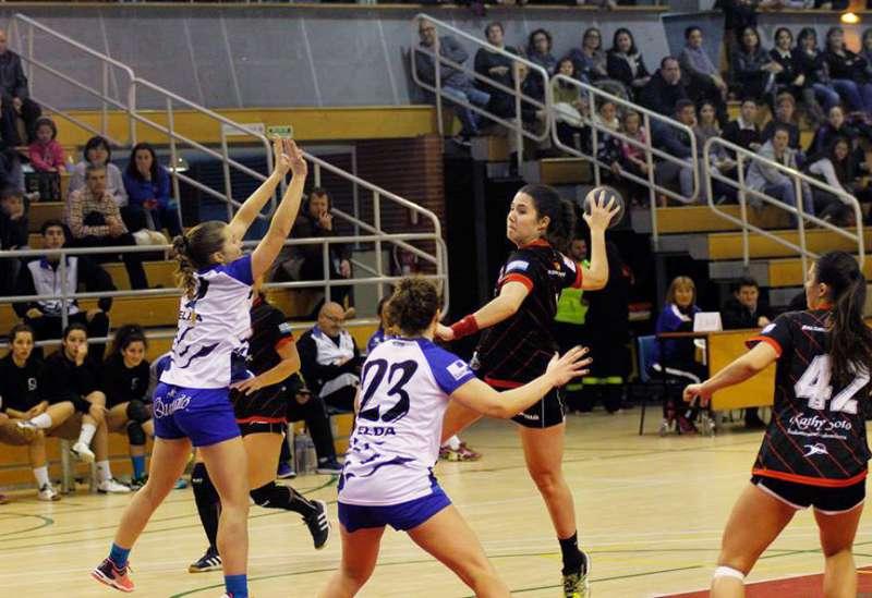 La jugadora, Miriam Calderón. EPDA