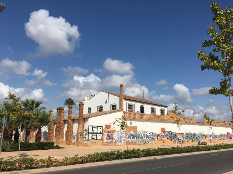 Imagen de la Casa Noguera del Port de Sagunt. EPDA