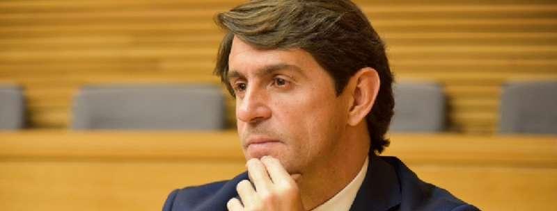 El diputado del Grupo Parlamentario Popular, Juan de Dios Navarro