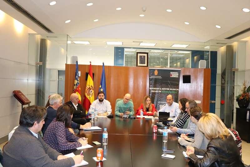 Presentación del proyecto en Massamagrell. EPDA