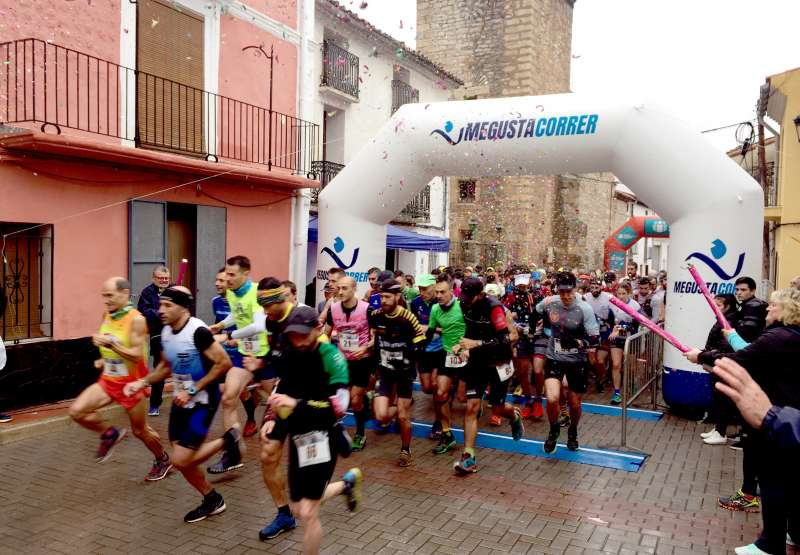 150 corredores tomaron la salida. Fotos: Dani Riera