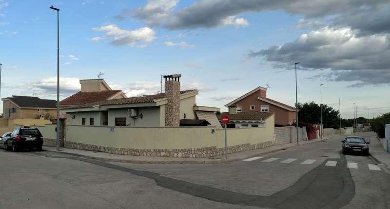 Zona nord de La Pobla de Vallbona on s