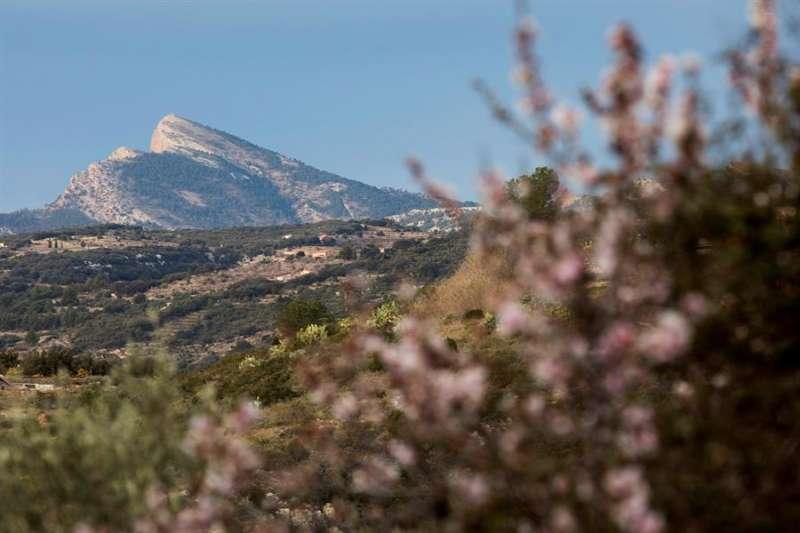 Vista del pico de Penyagolosa, en Castellón. EFE/ Domenech Castelló