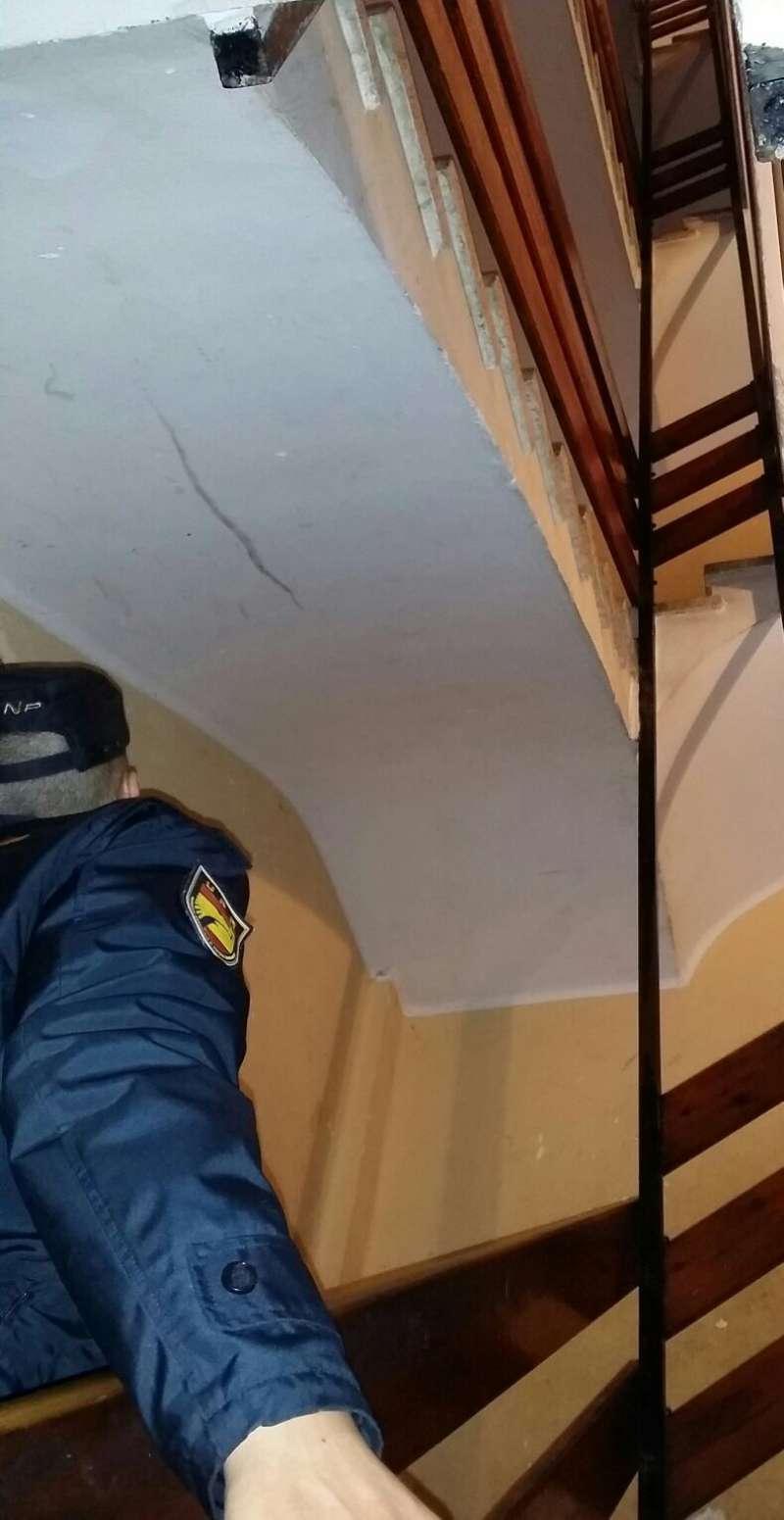 Un policía héroe. FOTO EPDA