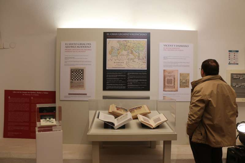 Espacio dedicado a Vicent en el Museo de la Imprenta