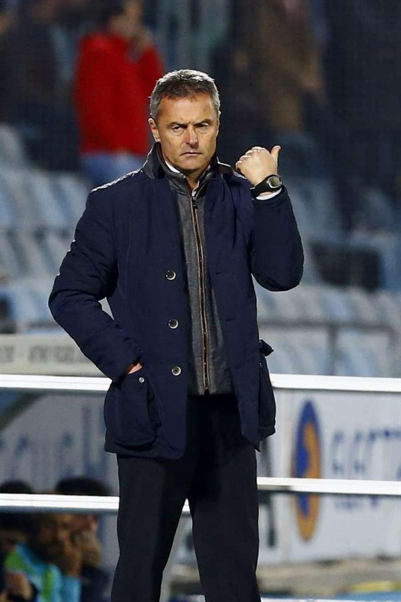 Fran Escribá, actual entrenador del Elche, en su etapa como técnico del Getafe.  EFE