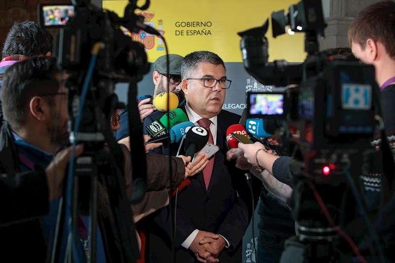 El delegado del Gobierno en la Comunitat Valenciana, Juan Carlos Fulgencio. EFE/Biel Aliño