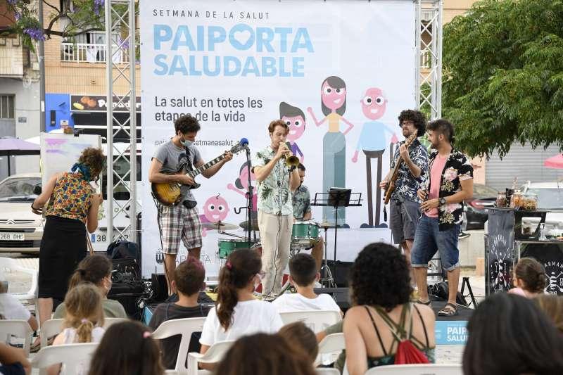 Concierto celebrado durante la Semana de la Salud de Paiporta.